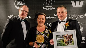 Positivity Pumping at the NZ Dairy Industry Awards