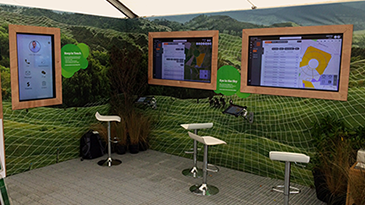 New technology on display at the recent Christchurch A&P Show