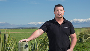 Shane Kelly, Ngāi Tahu Farming's General Manager of Dairy.