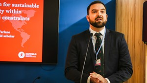 Nuffield scholar shares thoughts on sustainability at climate conference