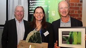 Katie Milne wins Ravensdown Agricultural Communicator  of the Year